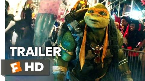 Teenage Mutant Ninja Turtles Out of the Shadows Official Trailer 2 (2016) - Movie HD