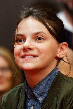 Dafne Keen Press Conference Logan Berlinale 2017 02