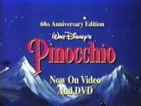 Video trailer Pinocchio - 60th Anniversary Edition