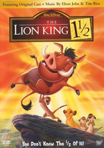 The Lion King One and a Half DVD