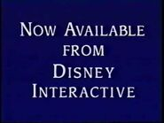 Now Available from Disney Interactive