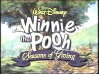 Video trailer Winnie the Pooh Seasons of Giving