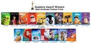 Academy award best animated films