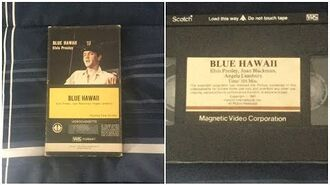 Opening to Blue Hawaii 1978 VHS True HQ