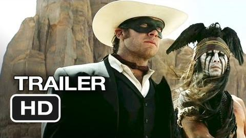 The Lone Ranger Official Trailer 1 (2013) - Johnny Depp Movie HD
