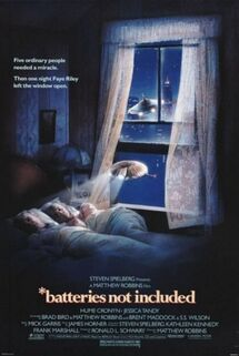 Batteries not included. poster