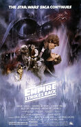 The Empire Strikes Back 1980 Poster