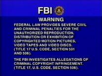 CTSP FBI Warning Screen 8