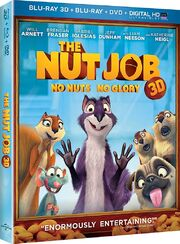 Universal Studios Home Entertainment - The Nut Job Blu-ray 3D