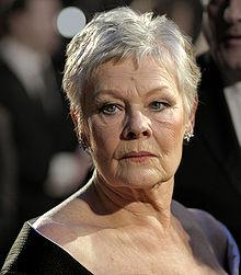 File-Judi Dench at the BAFTAs 2007