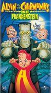 Alvin and the Chipmunks Meet Frankenstein Poster