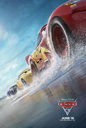 Cars 3 poster
