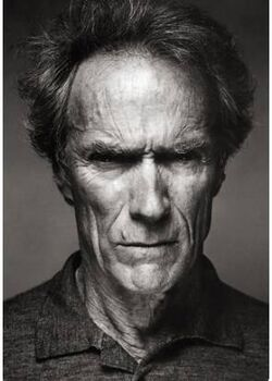 Clint eastwood face