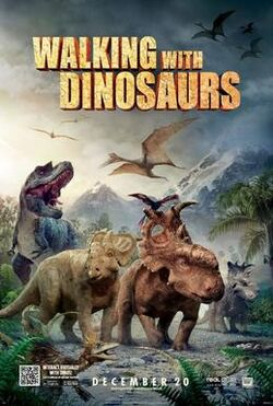 Walking with Dinosaurs film poster