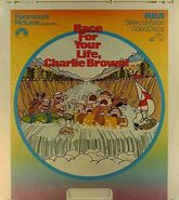 Race for Your Life, Charlie Brown Videodisc
