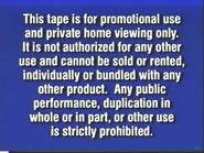 2000 FBI Warning (Promotional)