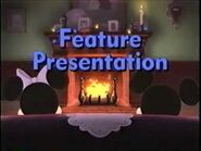 Feature Presentation bumper (Mickey's Once Upon a Christmas variant)