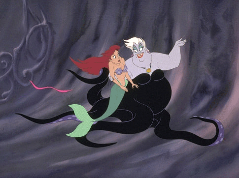 Ursula The Sea Witch Makes Her Proposal To Ariel