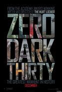 Zero dark thirty poster 2