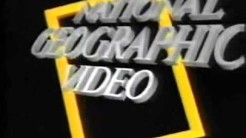 National Geographic Video Logo 1986-1993