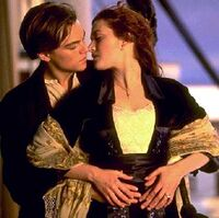Titanic Movie Leo Kate Kiss
