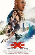 XXX Return of Xander Cage poster