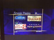 Disney Sneak Peeks (Walt Disney Cartoon Classics- Extreme Adventure Fun variant)