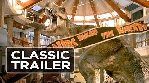 Jurassic Park Official Trailer 1 - Steven Spielberg Movie (1993) HD