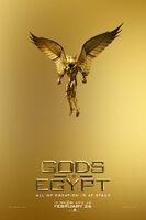 Gods of Egypt teaser poster - Gold 001