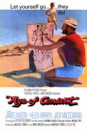 Age of Consent English film poster