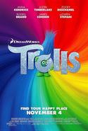 Trolls (film) logo