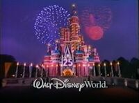 Walt Disney World 25th Anniversary commercial