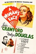 A Womans Face poster