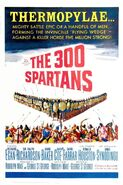 The 300 Spartans 1962 Poster