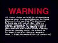 Universal Studios Home Entertainment FBI Warning 3b