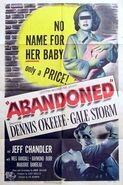 Abandoned 1949 Poster