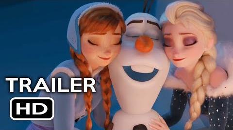Video Olafs Frozen Adventure Short Film Official Trailer 1 2017