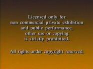 Paramount Home Entertainment Warning Screen (1989)