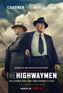 The Highwaymen 2019 Poster