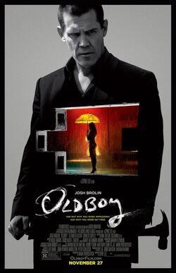 Oldboy 2013 film poster