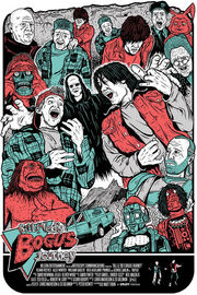 Bill and teds bogus journey custom poster