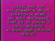 Second Paramount Home Entertainment warning screen