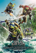 TMNT-Out of the Shadows Poster