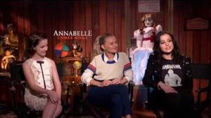 Annabelle Comes Home Interview with Mckenna Grace, Madison Iseman and Katie Sarife