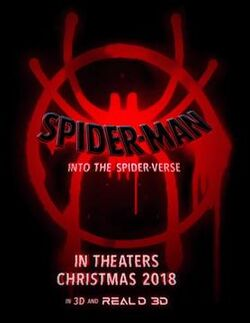 Spiderman Into The Spiderverse teaser poster
