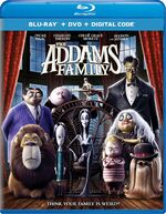 The Addams Family 2019 Blu-ray