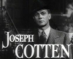Joseph Cotten in Shadow of a Doubt trailer