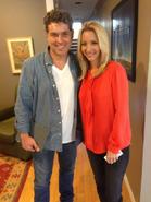 Ricardo arnaiz with lisa kudrow