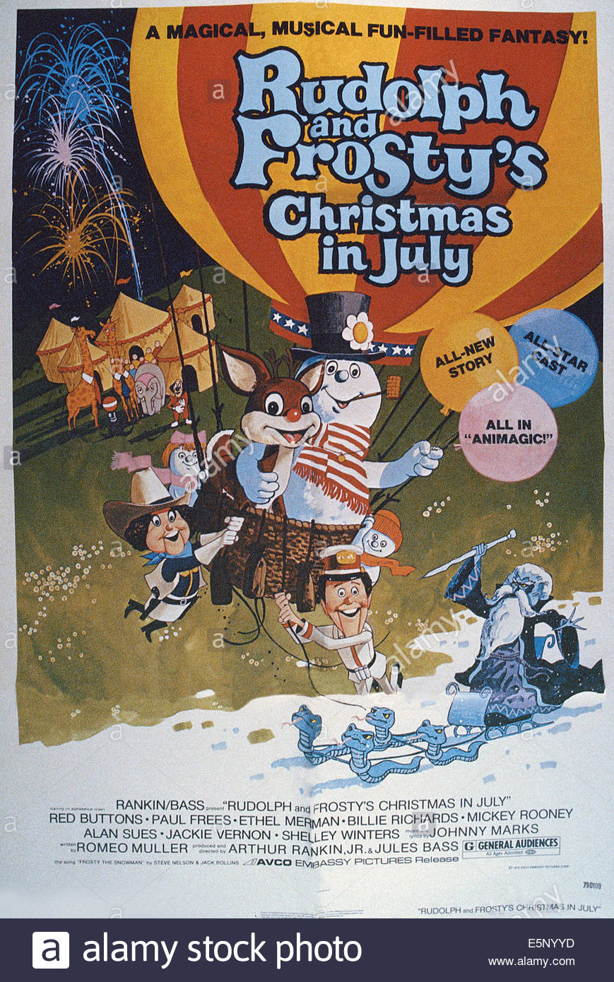 Rudolph And Frostys Christmas In July Dvd.Rudolph And Frosty S Christmas In July Moviepedia Fandom
