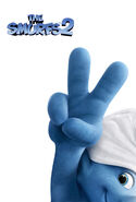 Smurfs 2 New Narrow Poster!